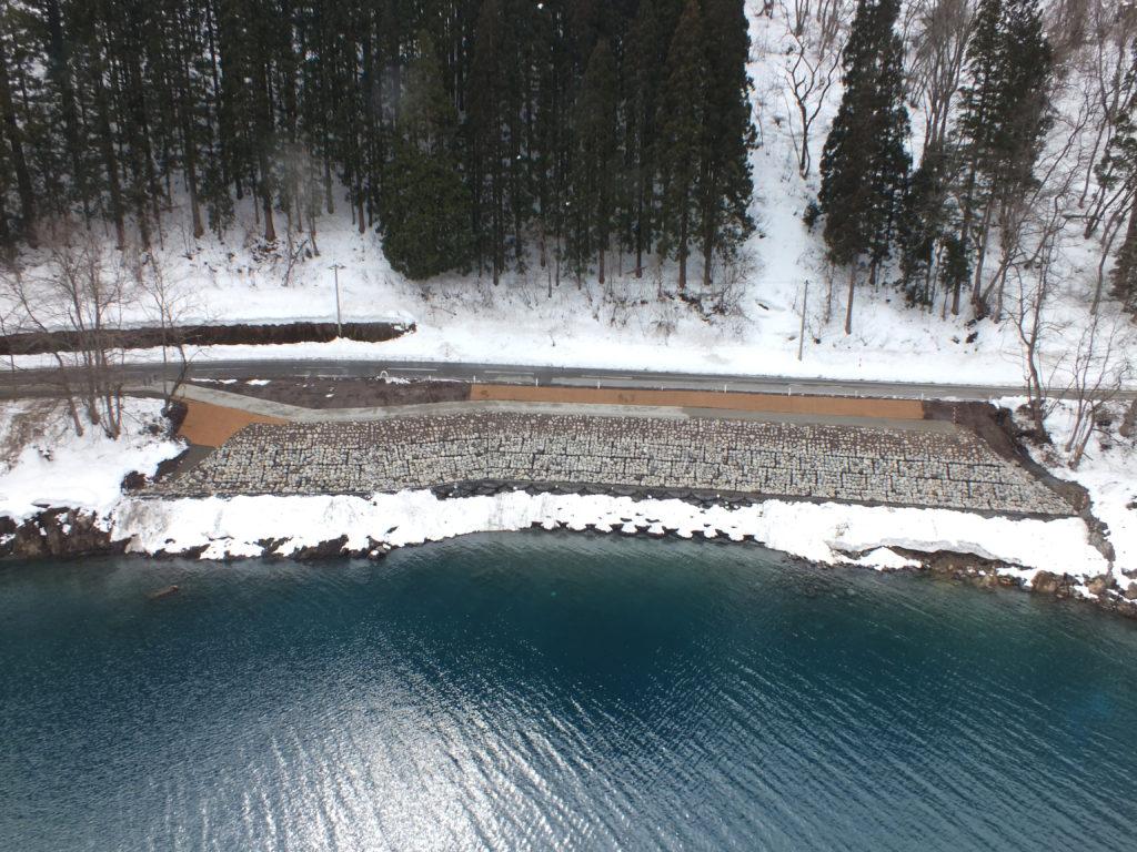 平成24年度流域治水対策工事