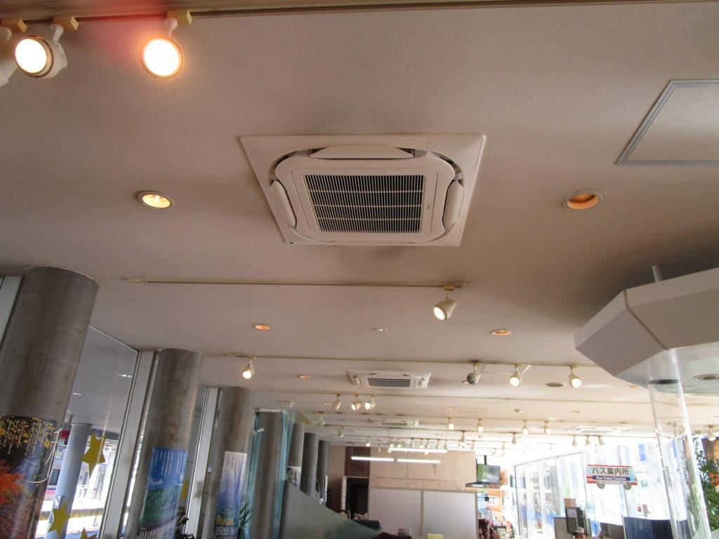 田沢湖観光情報センター空調機器更新工事